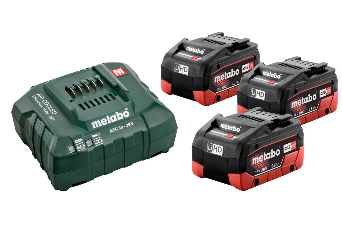 Batteripaket3 X LIHD 5,5 AH (685074000)