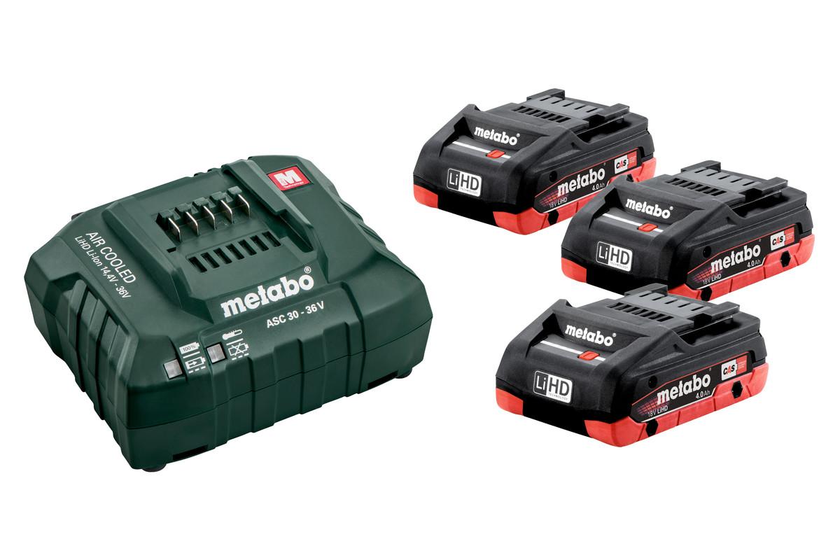 Batteripaket3 X LIHD 4,0 AH (685132000)