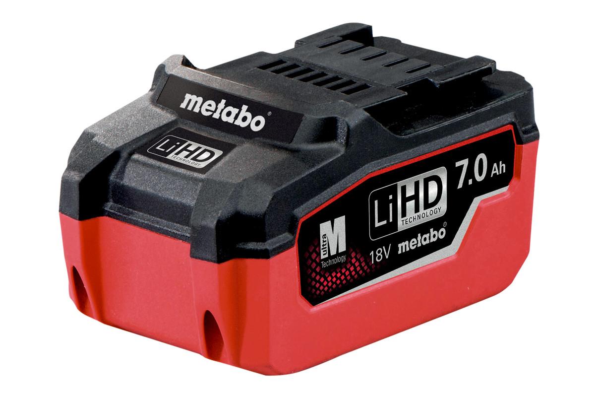 Batteri LiHD18 V – 7,0 AH (625345000)
