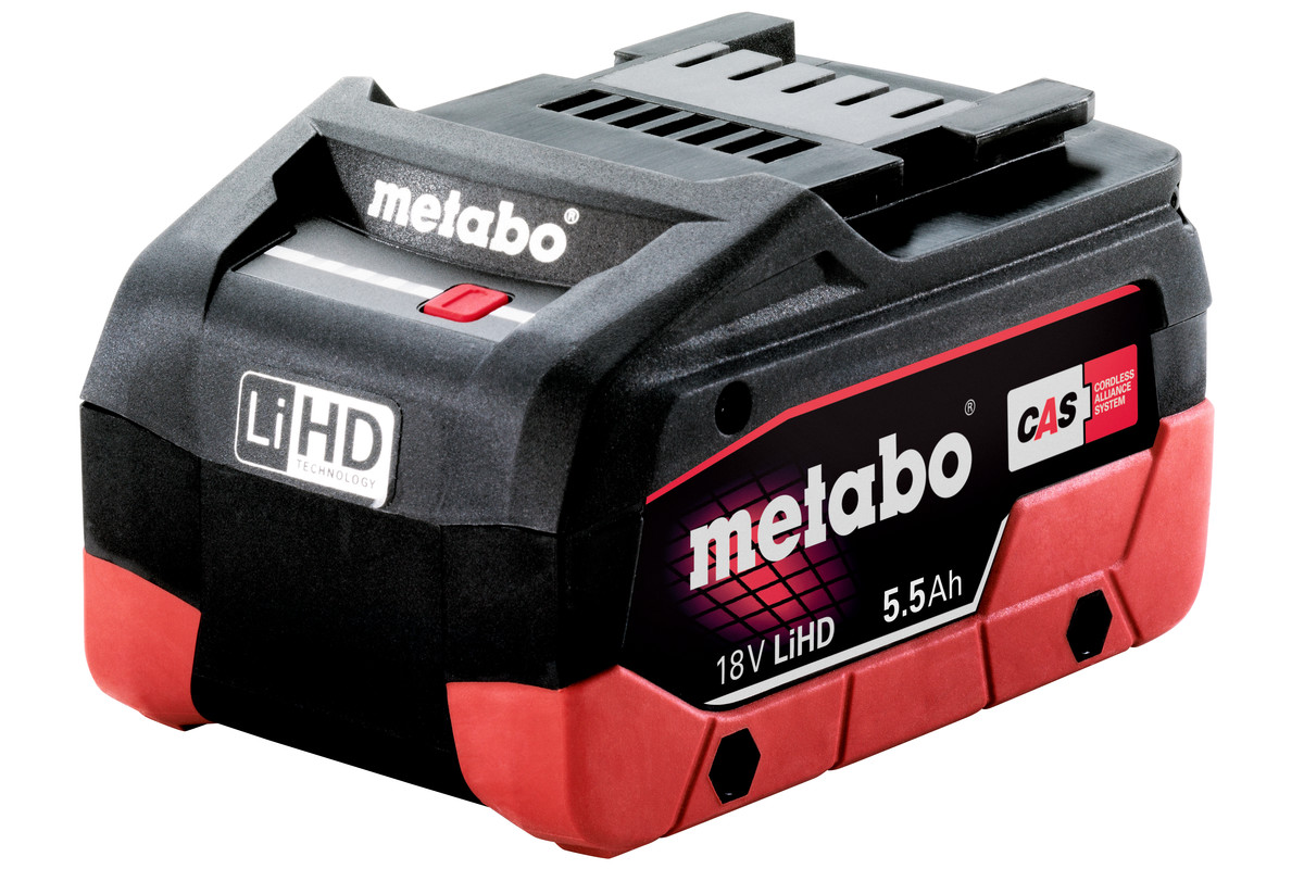 Batteri LiHD18 V – 5,5 AH (625368000)